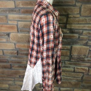 Pretty plaid with Lace